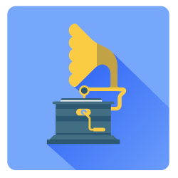 Gramophone icon - Blog