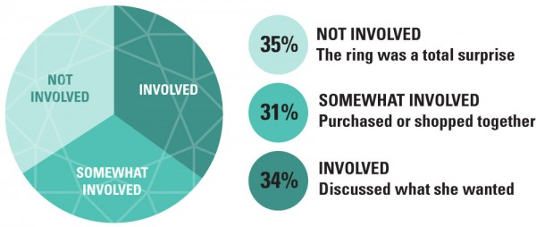 ERG PieChart Involement e1404203159428 - Should you get your partner involved - Engagement Ring