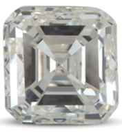 Asscher diamond colour I