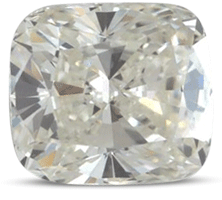 Cushion diamond color I