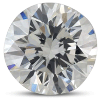 Round brilliant diamond color H