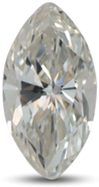 Marquise diamond with color I