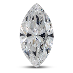 Marquise diamond with excellent symetry