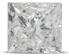 Princess cut colour H 2 - Princess cut engagement rings