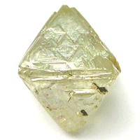 rough diamond octohedron