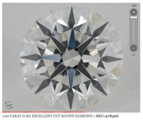 SI1 280 - Diamond Clarity