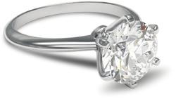 solitaire paladium e1430802924662 - Platinum engagement rings