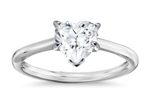 Heart 220 - Solitaire engagement rings