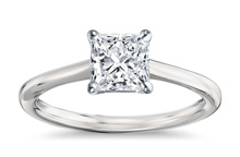 Princess 220 - Solitaire engagement rings