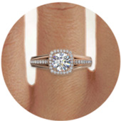 Rose Gold Engagement Rings Find Yours