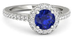 sapphire ring e1427856974887 - Platinum engagement rings