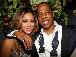 1 Beyonce engagement ring couple photo