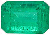 Emerald with overall quality A