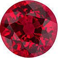 gem grade round ruby