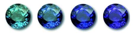 sapphire color saturation
