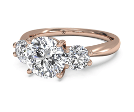 Rose gold engagement rings | Ringspo