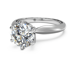 zoom M1R7265c me PerspectiveView Platinum WD shadow2 - Best engagement Rings for Active Women