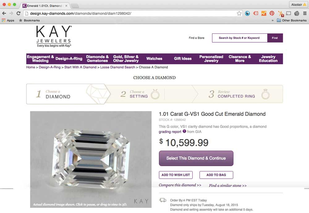 Kays emerald2 - Don't Buy From Mall Jewelers