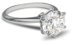 solitaire paladium e1428365979666 - Solitaire engagement rings