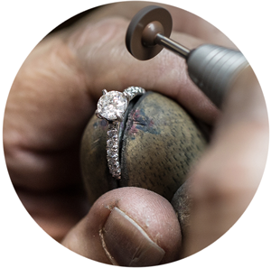 polishing prongs - How Engagement Rings Are Made