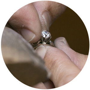 seating diamond - How Engagement Rings Are Made