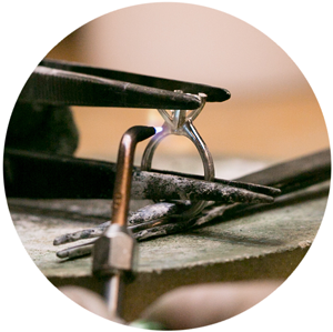 soldering head - How Engagement Rings Are Made