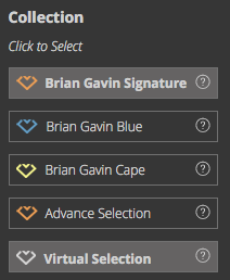 Brian Gaving diamond search options