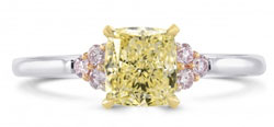 yellow-diamond-engagement-ring-with-pink-diamond-side-stones