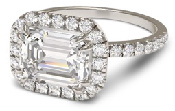 How Much Does A  Carat Emerald Cut Diamond Cost