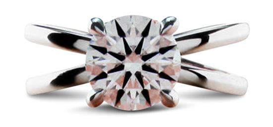 split shank diamond engagement ring - 2018 Engagement Ring Trends