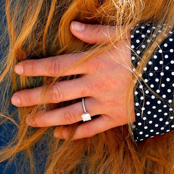 3 Ronda Rousey Ring Closeup - Ronda Rousey's Engagement Ring