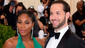 1 Serena Williams Engagement Ring Serena Williams and Alexis Ohanian e1534729902998 300x170 - Serena Williams's Engagement Ring