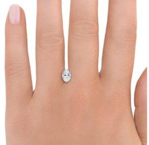 8 Serena Williams Engagement Ring 1 Carat Comparison 1 300x293 - Serena Williams's Engagement Ring