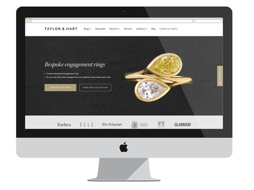 Taylor and Hart website