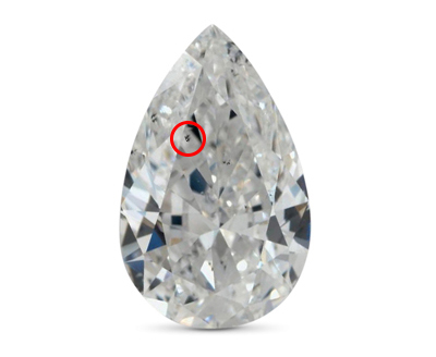 12 nice shape pear diamond Pear 1.70 Carat E VS2 0 first  - Pear shaped engagement rings