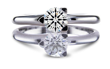 19. 3prongsolitaire - 2018 Engagement Ring Trends