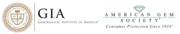 GIA AGS logo - G Color Diamonds
