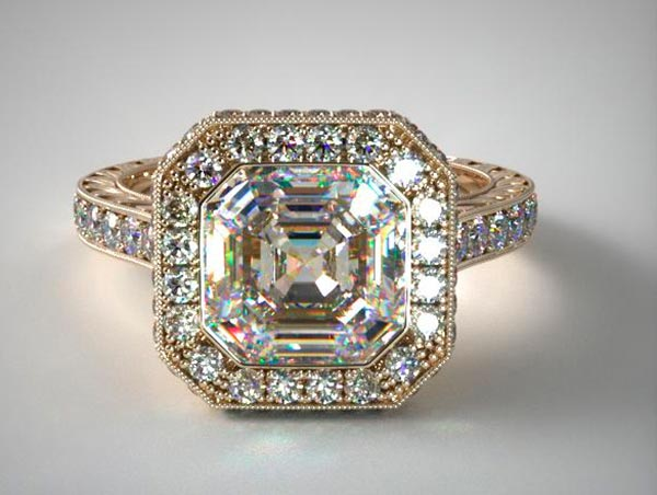 10 Shanina Shaiks engagement ring similar setting calculation - Shanina Shaik's Engagement Ring