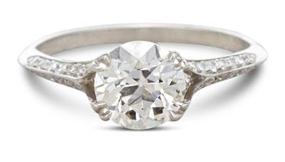 Edwardian diamond ring 11 - Edwardian engagement rings