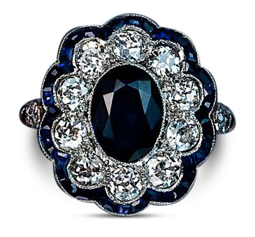 Edwardian diamond ring 17 - Edwardian engagement rings