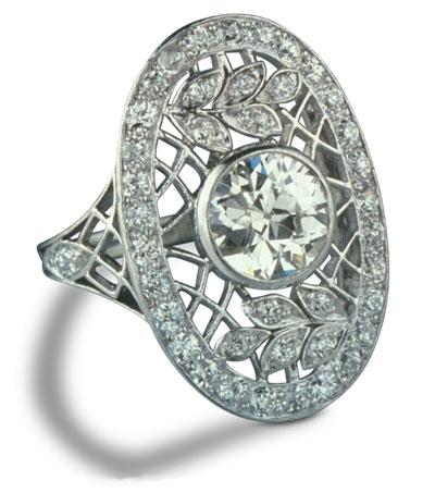 Edwardian diamond ring 26 1 - Edwardian engagement rings
