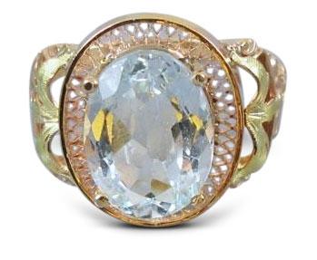 Edwardian diamond ring 28 - Edwardian engagement rings