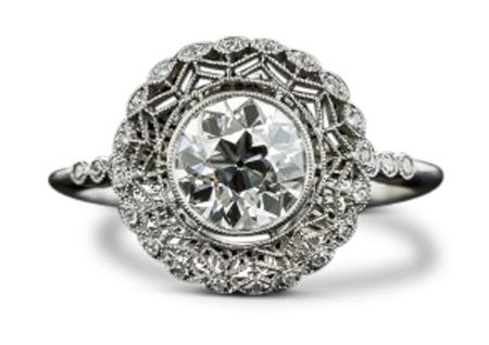 Edwardian diamond ring 3 - Edwardian engagement rings