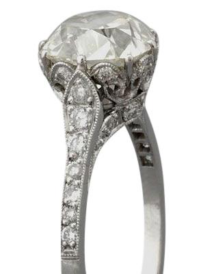 Edwardian diamond ring 6 - Edwardian engagement rings