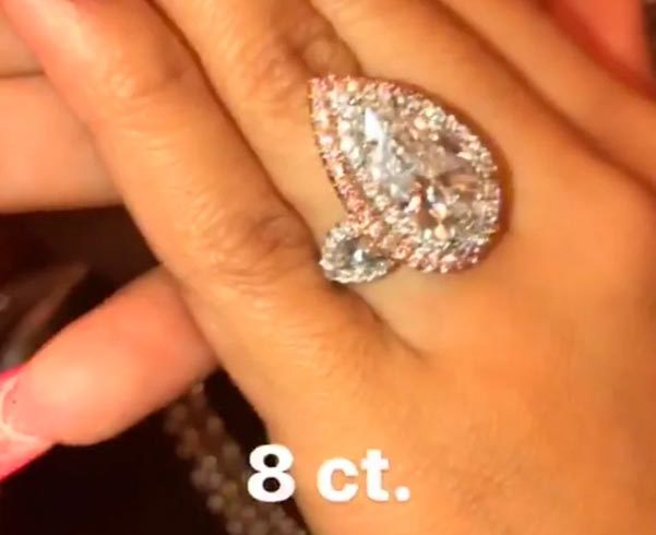 3 Cardi Bs Engagement Ring Instagram Debut e1534727153337 - Cardi B's Engagement Ring