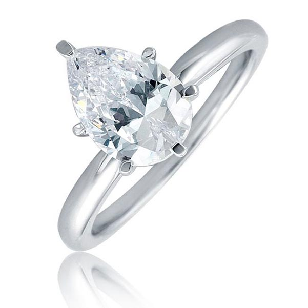 Sophie Turners Engagement Ring Six Prong Setting