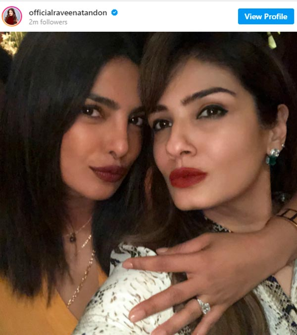 Priyanka Chopras Engagement Ring Instagram Debut