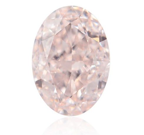 Blake Livelys Engagement Ring Light Pink Oval Diamond