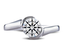 BG taryn palladium engagement ring - Palladium engagement rings