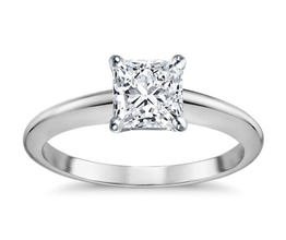 Classic Four-Prong Solitaire Engagement Ring